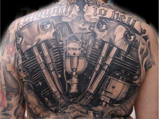 biker tattoo 2a
