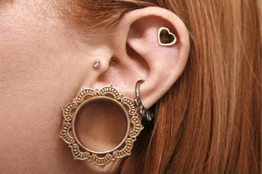 body piercing - ear 1