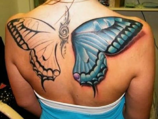 butterfly tattoo 1a