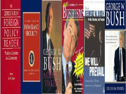 George Bush Books 1a