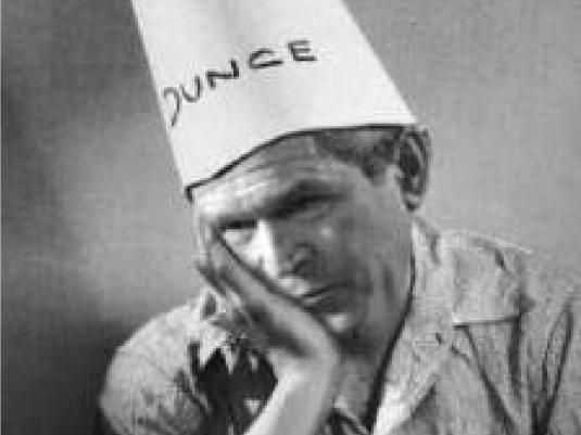 George dunce 1a