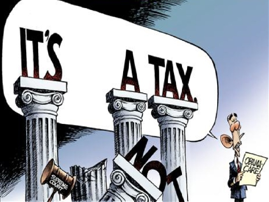it's a tax - NOT 1a