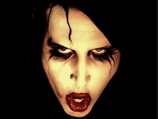 Marilyn Manson 1  freak rock star