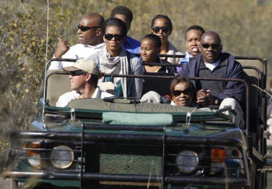 Michelle in Africa 2