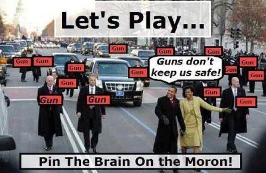 Obama - guns don't keep us safe