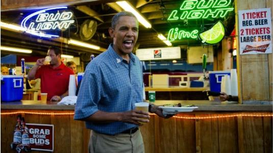 Obama in a pub 1