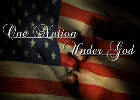 one nation under God - flag 2
