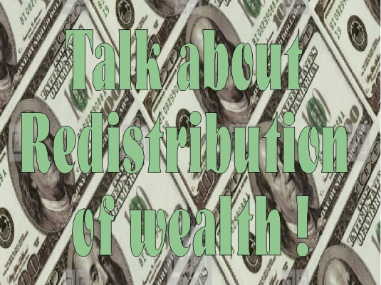redistribution of wealth 3b