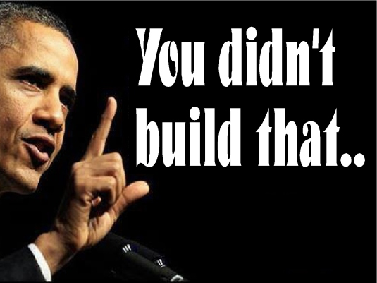 you didn't build that 1a