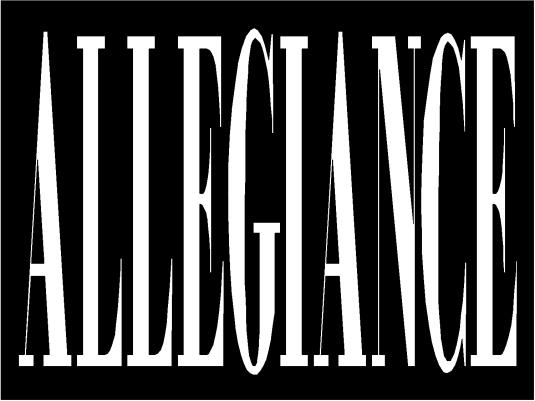 allegiance - page break 1a
