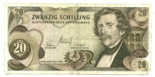 Austrian 20 Schilling 1