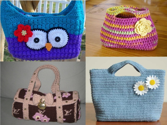 crocheted handbags 1a