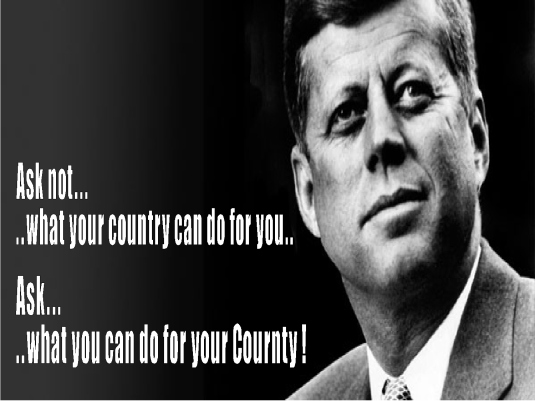 John F. Kennedy - ask not 1a