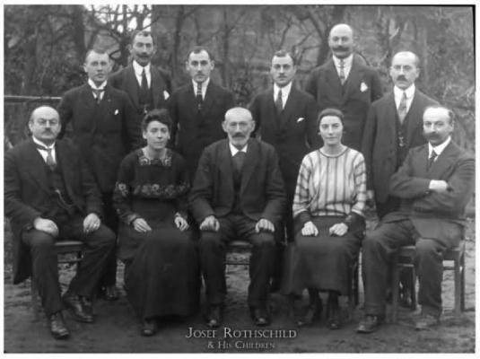 Joseph Rothschild and his child