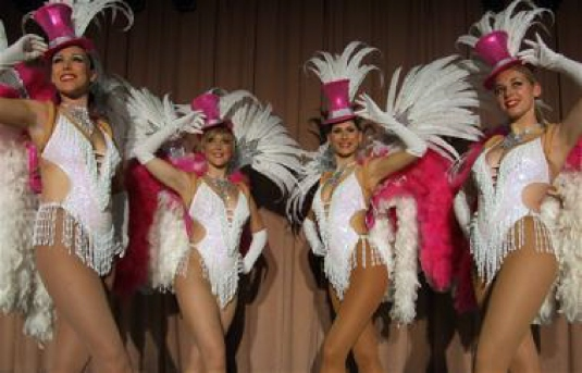 Las Vegas showgirls 1