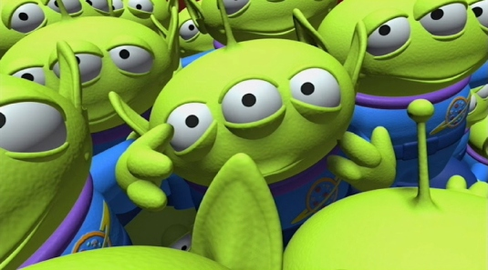 little green men from Mars