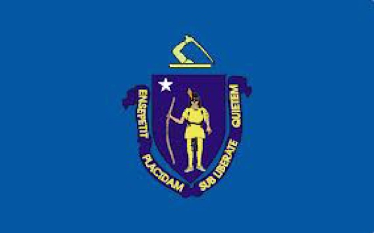 Massachusetts state flag 1