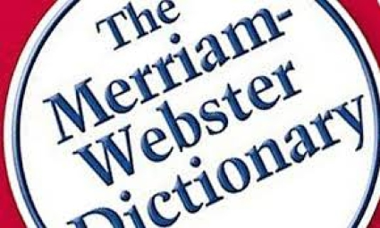 Merriam Webster dictionary cove