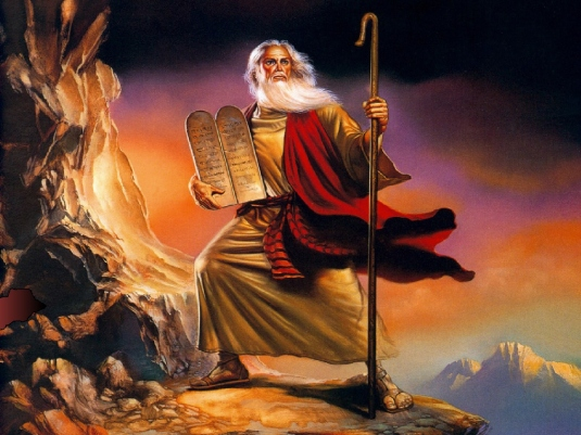 Moses on the Mount 3a jpg