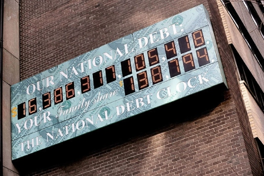 national debt clock 2