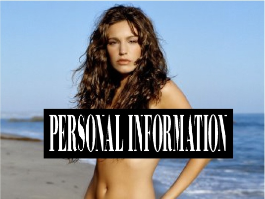 personal information  3