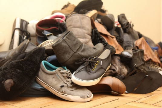 pile of shoes 1