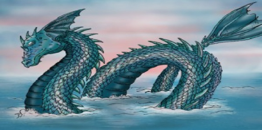 Poseidon's sea monster 1