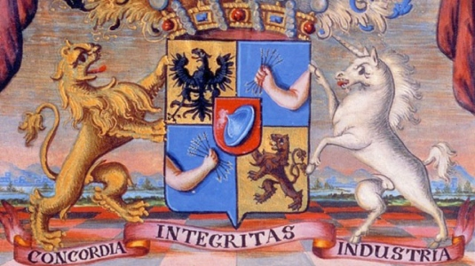 Rothschild family crest 2