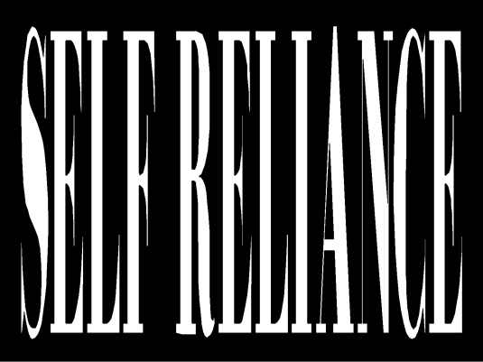 self-reliance - page break 1A