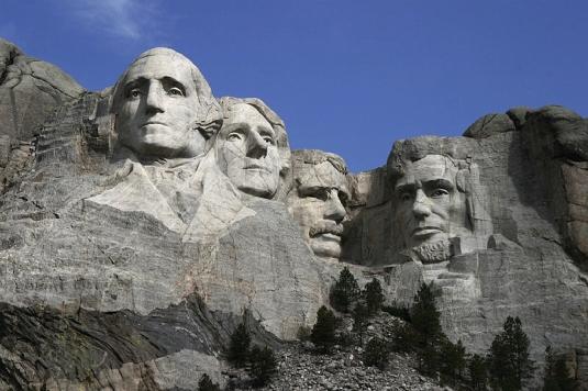 Thomas Jefferson on Rushmore