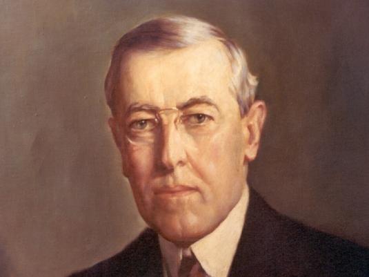Woodrow Wilson - unhappy man 2a