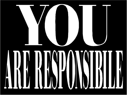 you are responsible 1A