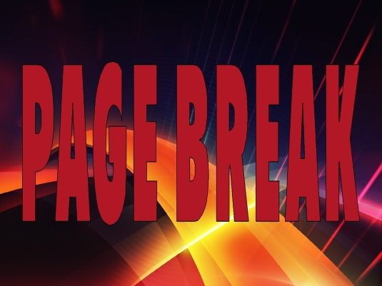 abstract - page break - red 1