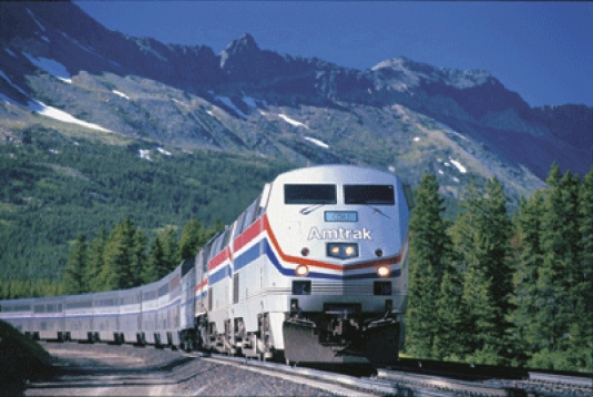 Amtrak train 1