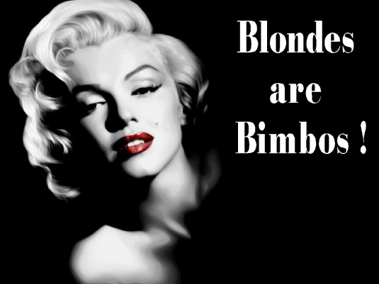 blondes are bimbos 1a