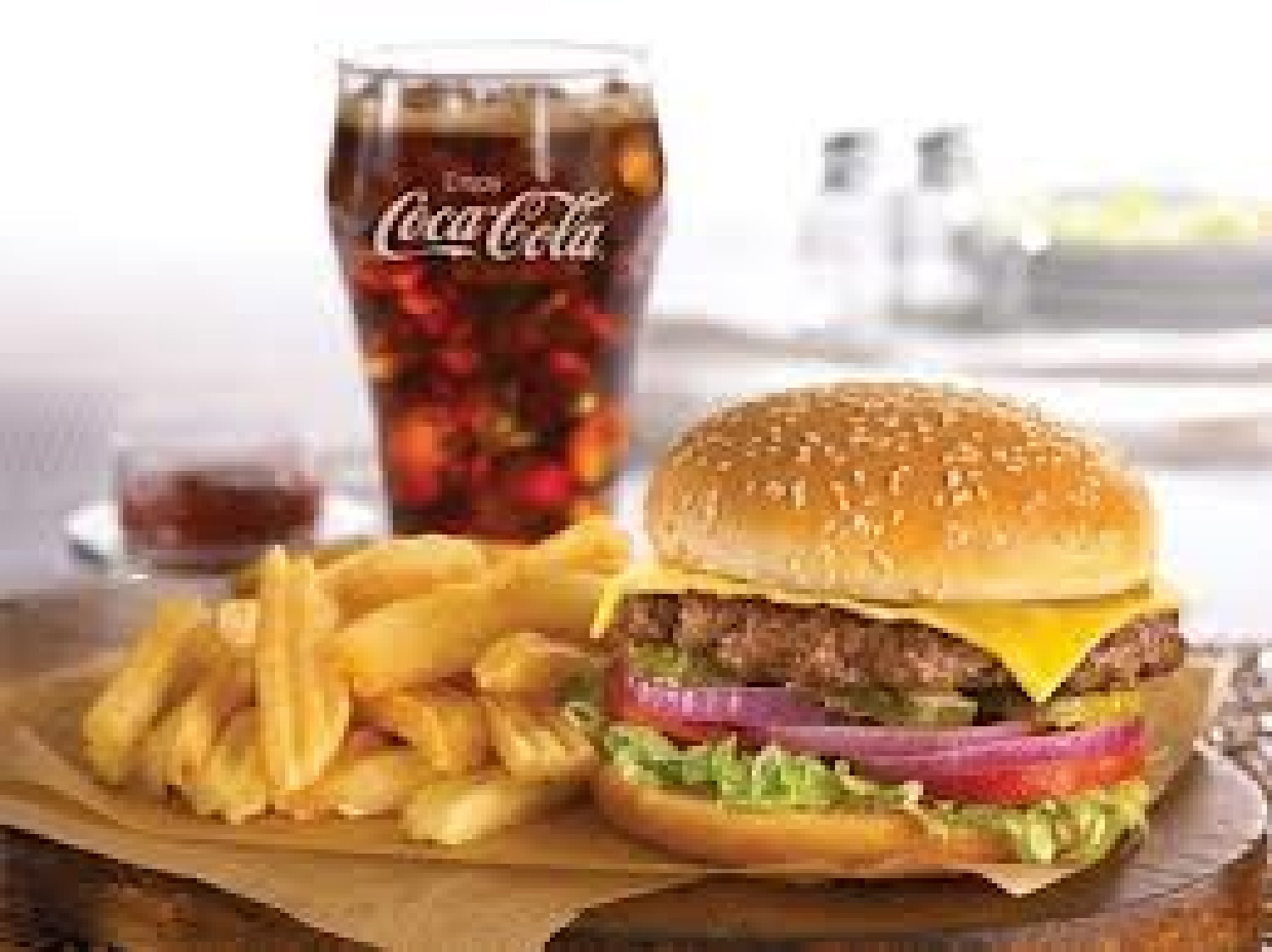 Burger King Offers 2 Cheeseburgers, Fries And Drink For $3 ...  |Cheeseburger And Fries