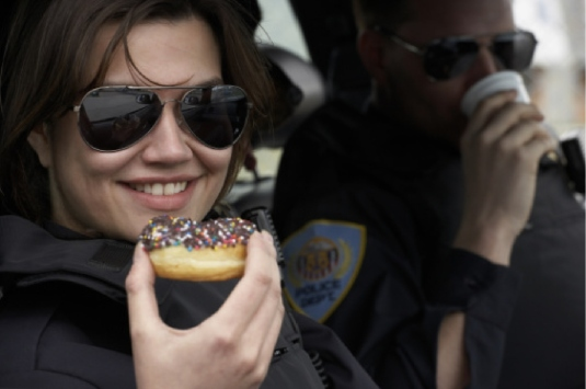 cops eating donuts 1