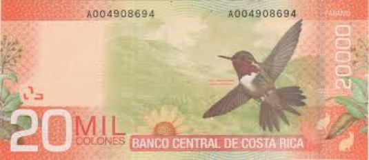 Costa Rican Mil colones - curre