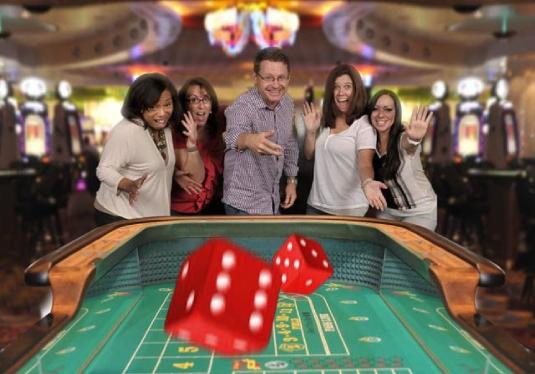crap table - Las Vegas
