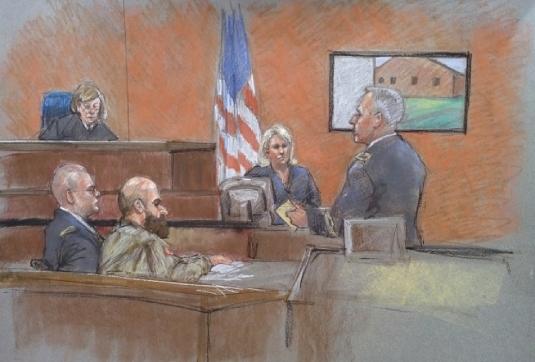 Fort Hood murder trial 1