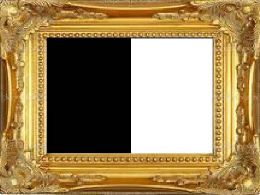 gold picture frame 1a