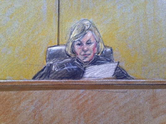 Judge in murder trial