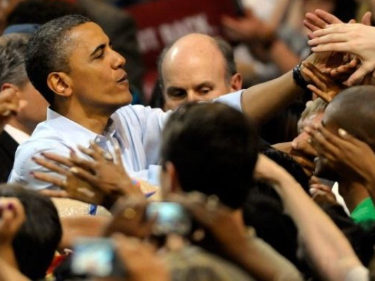 Obama - campaigning 1a
