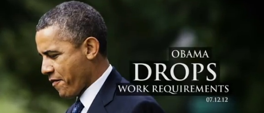 Obama drops work requirement 1