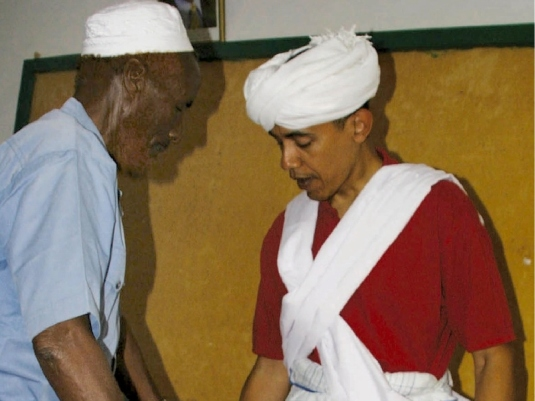 Obama in traditional dress 1a