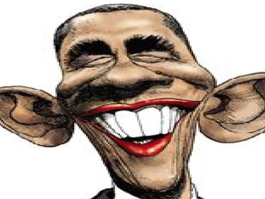 Obama - pig with lipstick 1b