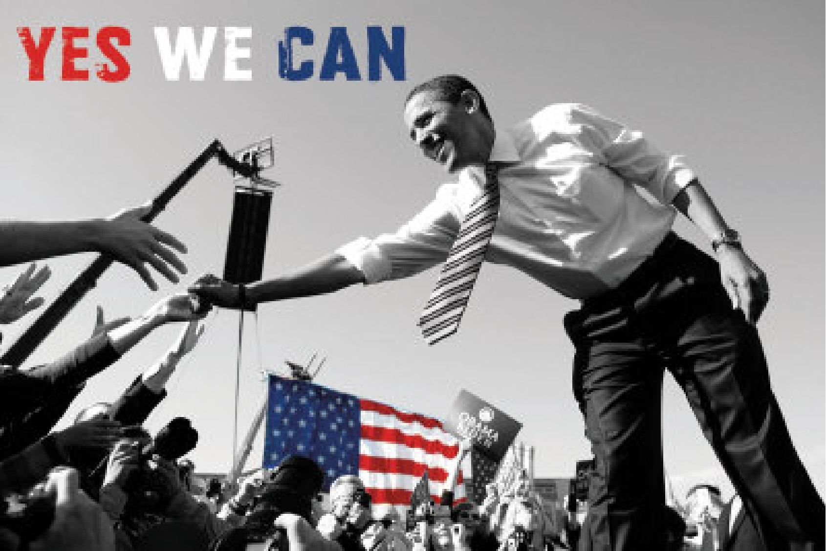 yes we can by obama President barack obama's 'yes we can' slogan has become one of the most famous in political history, but it seems he was not always sold on the expression as he thought it was 'too corny.