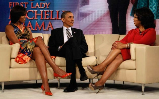 Oprah Winfrey show - Obama's