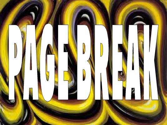 page break- page break 2b