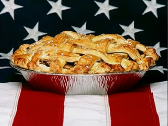 the flag and Apple pie 1a